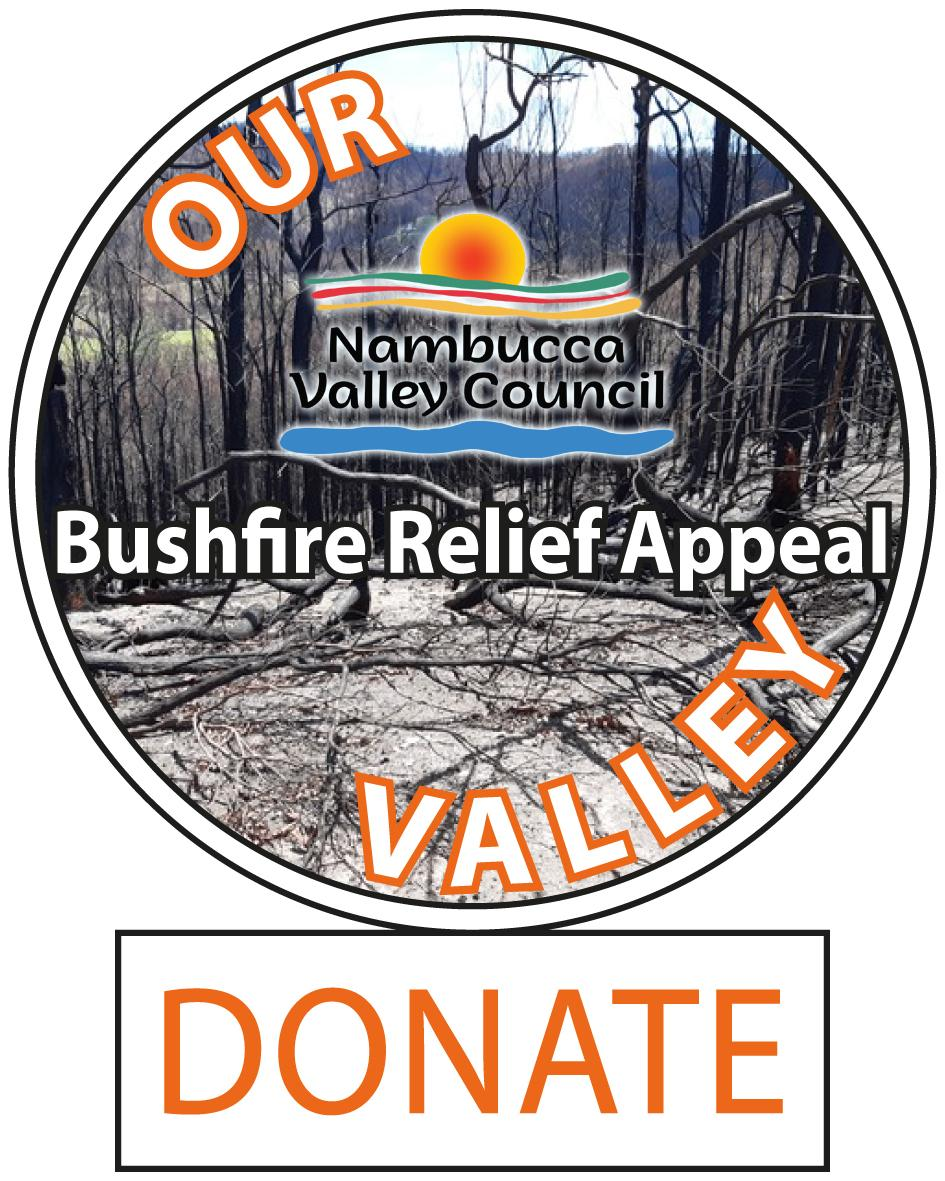 Donate to Nambucca Valley Council's Bushfire Relief Appeal